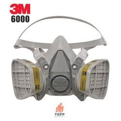 Semimasca 3M600 protectie respiratorie cu 2 filtre 6051 incluse Pachet