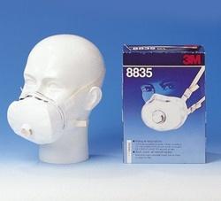 Semimasca de protectie FFP3D 3M 8835 - PRET 5BUC
