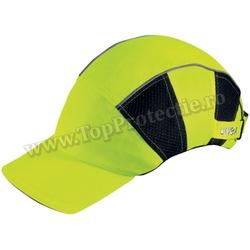 Sapca de protectie cu benzi reflectorizante UVEX - la comanda speciala!