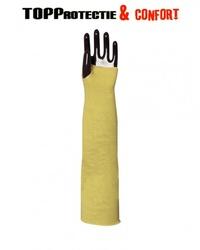 Protectori antebrat impotriva taierii,tricotate din fir Kevlar,lungime 55 cm