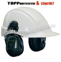 Antifoane externe montabile pe casca de protecţie, cu bandă rabatabilă, ajusta