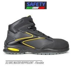 Bocanci flexibili Safety-Sport-Style negru cu galben - LICHIDARE 39
