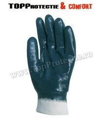 FINAL - Manusi protectie din bumbac imersat in nitril albastru