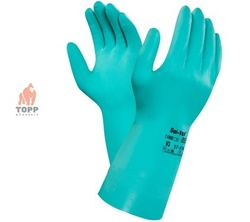Gloves ANSELL SOL-VEX 37-676, acid resistant, size 09