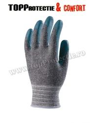 Manusi de protectie tricotate cu palma impregnata bipolimer nitril/poliuretan