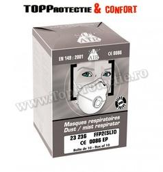 Masca de protectie SUPAIR FFP2 NR D SL VO CU CARBUNE ACTIV 23236
