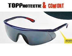 Ochelari de protectie UV fumuriu, rezistent la zgarieturi BaRden