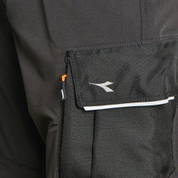 Pantaloni flexibili Diadora Work & Outdoor Carbon negru