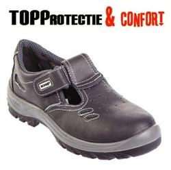 Sandale BONI O1 fara protectie din piele nubuc moale