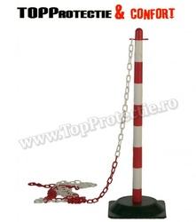 Stâlpi de delimitare şi semnalizare:  roşu-alb (70060)