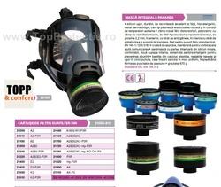 STOC EPUIZAT Masca de protectie integrala Polycarbo cu filtru inclus