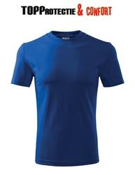 Tricou bumbac albastru royal ideal pentru imprimare