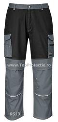 Pantaloni de lucru constructii cu buzunare pentru scule