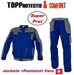Costum salopeta lucru jacheta si pantaloni vara toamna