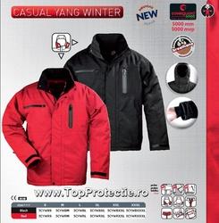 Geci de iarna Casual & Work respirabila usoara LICHIDARE negru