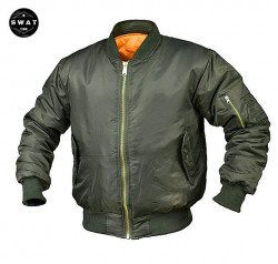 Jacheta Bomber light verde olive military