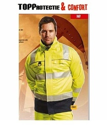 Jacheta de lucru reflectorizanta Multi-Norm protectie la riscuri multiple