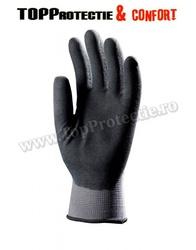 Mănuși de bază din nylon, gri