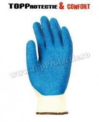 Manusi Taeki imersate in latex albastru,antiderapante