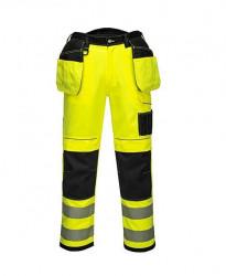 Pantaloni de lucru galben reflectorizant profesionali