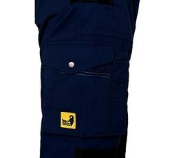 Pantaloni moderni de lucru Stretch bleumarin