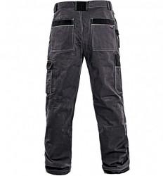 Pantaloni salopeta de lucru Strong gri