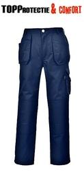 Pantaloni salopeta lucru tercot gros Holster