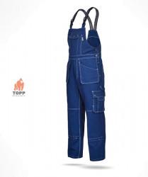 Salopete cu pieptar tip Jeans gros