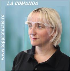 Viziera protectie incolor cu suport ochelari 1+5