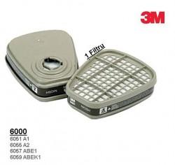 Filtre 3M protectie Gaze vapori 6057 ABE1 pentru masca 3M6200