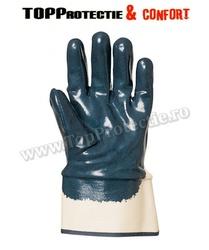 FINAL - Manusi de protectie din bumbac imersat in nitril albastru