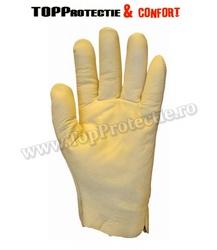 Manusi de protectie din piele integrala de bovina,moale,groasa