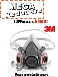Masca de protectie fara filtre 3M 6200 PROMO 5PLUS