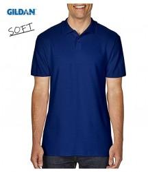 Model nou Tricou polo cu guler de vara SOFT bleumarin
