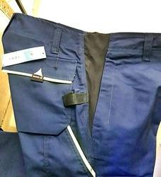 Pantaloni flexibili de lucru bleumarin contrast Industry Pro