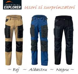 Pantaloni salopeta barbati Explorer Hammer Light negru