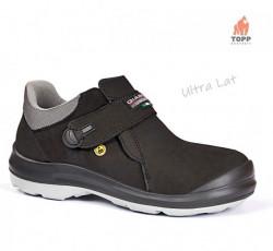Pantofi protectie fara siret ESD - calapod Ultra lat