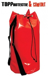 Geanta de scule impermeabila rosie PVC rezistenta pentru lucru la inaltime, alpinism