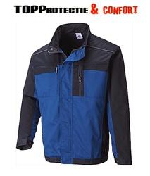Jacheta lucru TEXO 300 material rezistent si durabil albastru royal