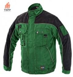 Jacheta salopeta lucru padure gradina verde