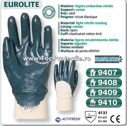 LICHIDARE marimea 8 9 Manusi de protectie imersate in nitril Actifresh