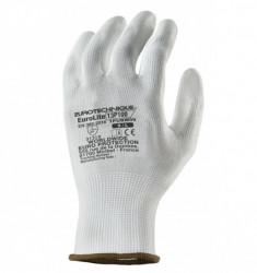 Manusi de protectie universala albe, rezistente