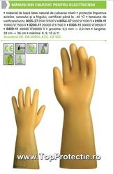 Manusi protectie Electricieni - Electroizolatoare EN 60903 8054