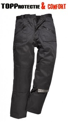 Pantaloni de lucru talie Action negri