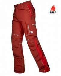 Pantaloni LUCRU profesionalI ergonomic Urban Bordo