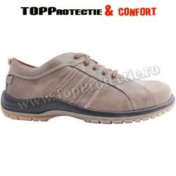 Pantofi ERMES de protectie S3, din piele nappa respiranta, hidrofobizata
