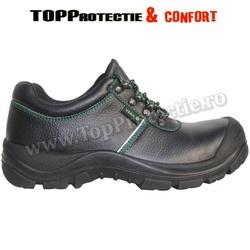 Pantofi VERA protectie S3 din piele bovina,hidrofobizata, bombeu din compozit