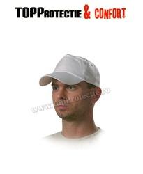 Şapcă baseball din material bumbac alb 100%