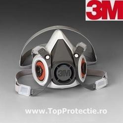 Semimasca protectie 3M-6300 fara filtre marimea L