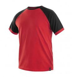 Tricou bicolor bumbac + elastan
